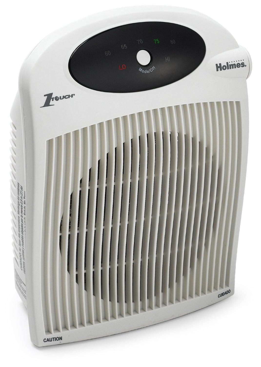 Holmes Heater With 1touch Control And Bathroom Safe Plug Space Heaters