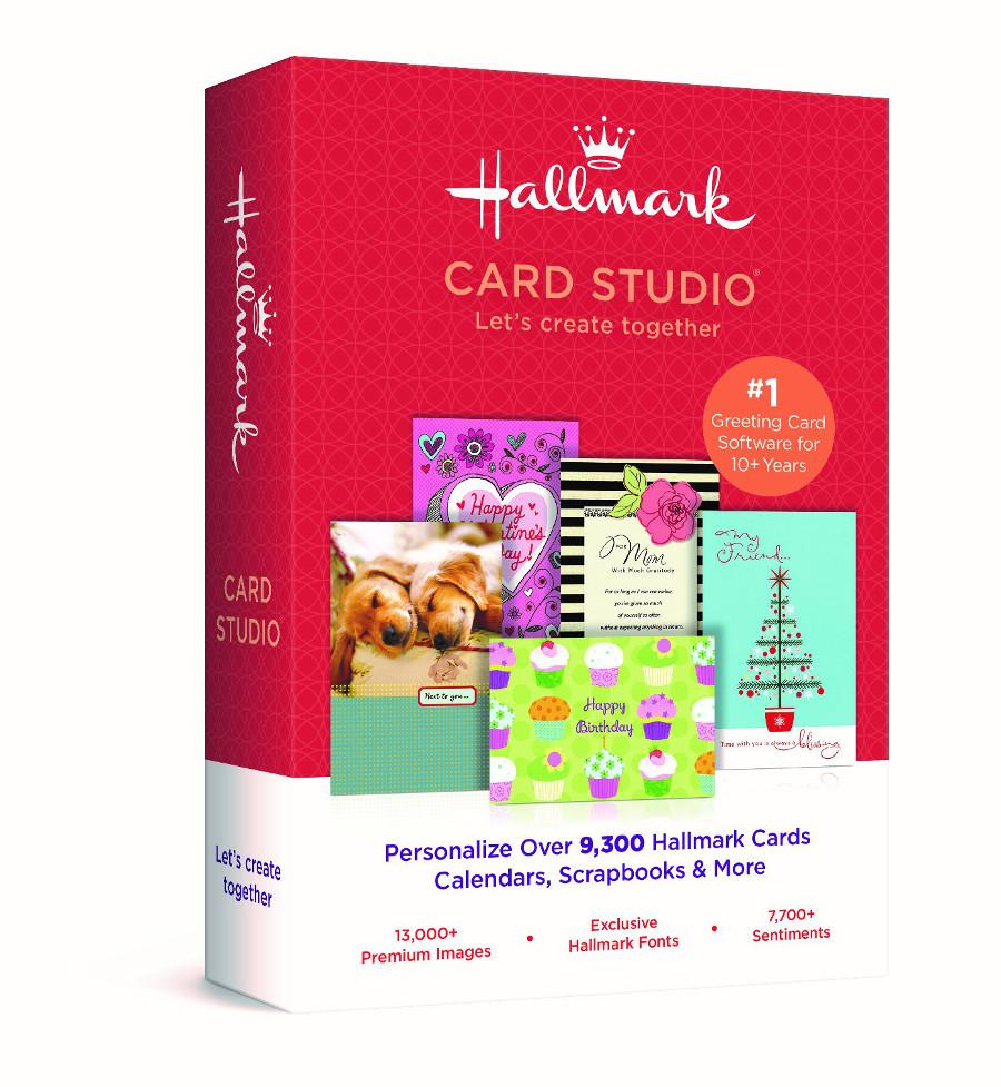 Hallmark card studio 2017 deluxe w bonus software