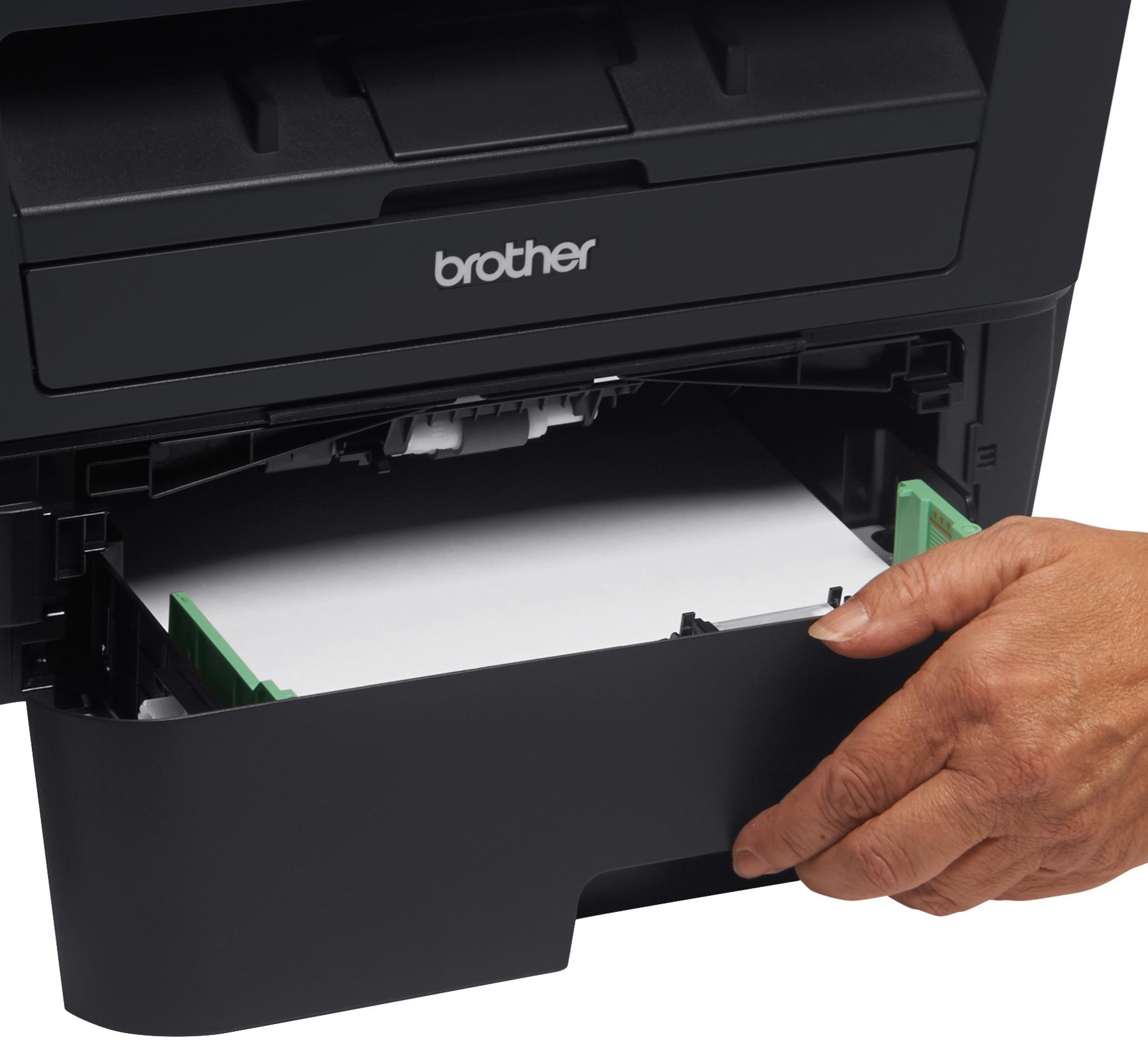 how to connect brother printer to computer wired directly