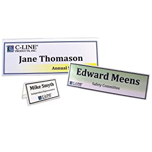 Plastic Tent Card Holders