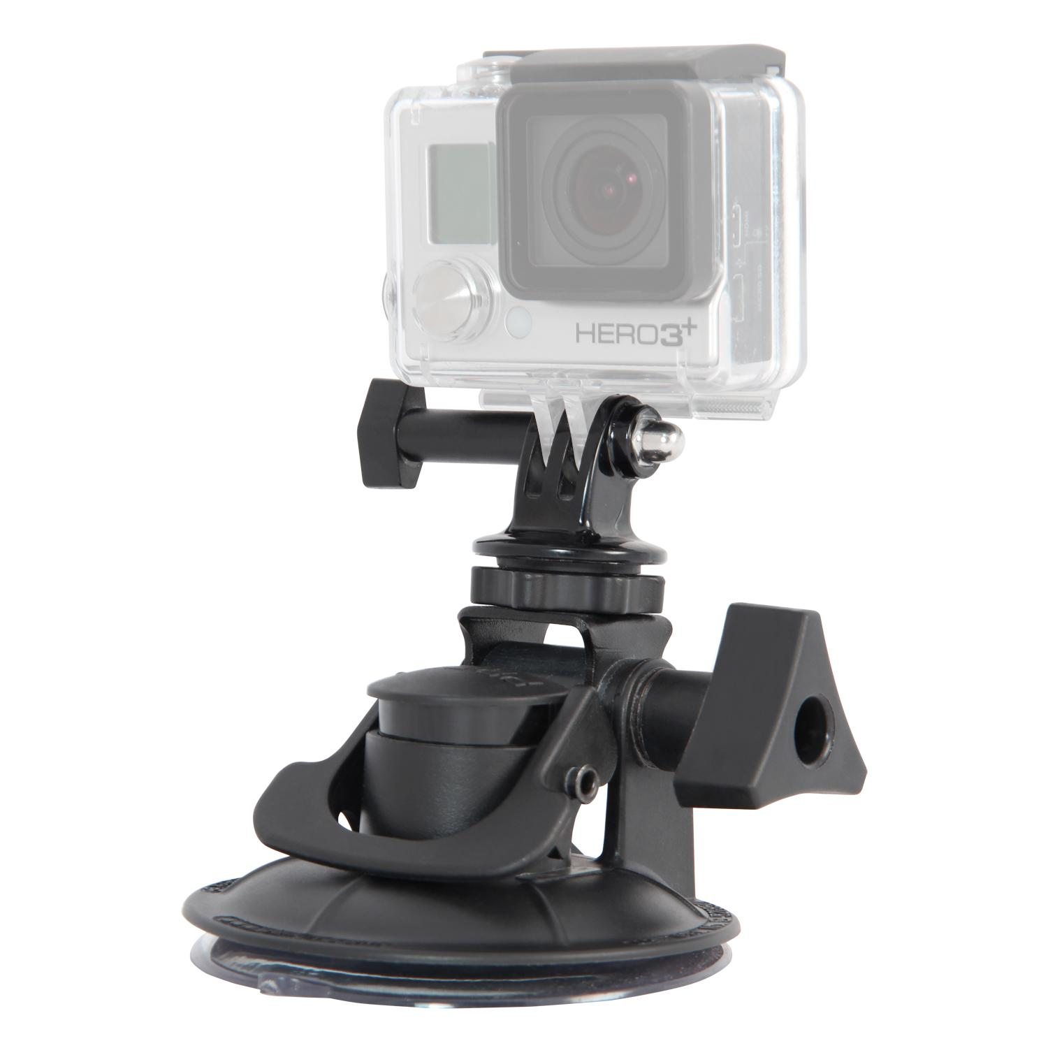 Amazon.com : Fat Gecko Stealth Suction Mount for GoPro Action Camera ...