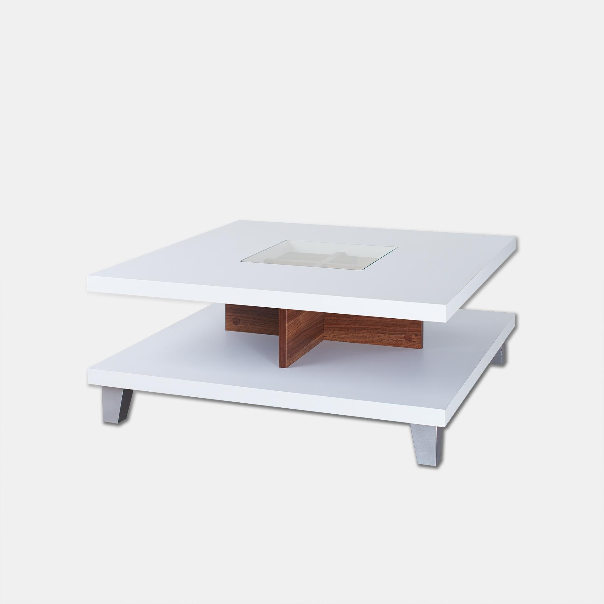 Furniture Of America Lendon Square Coffee Table White Coat Stands