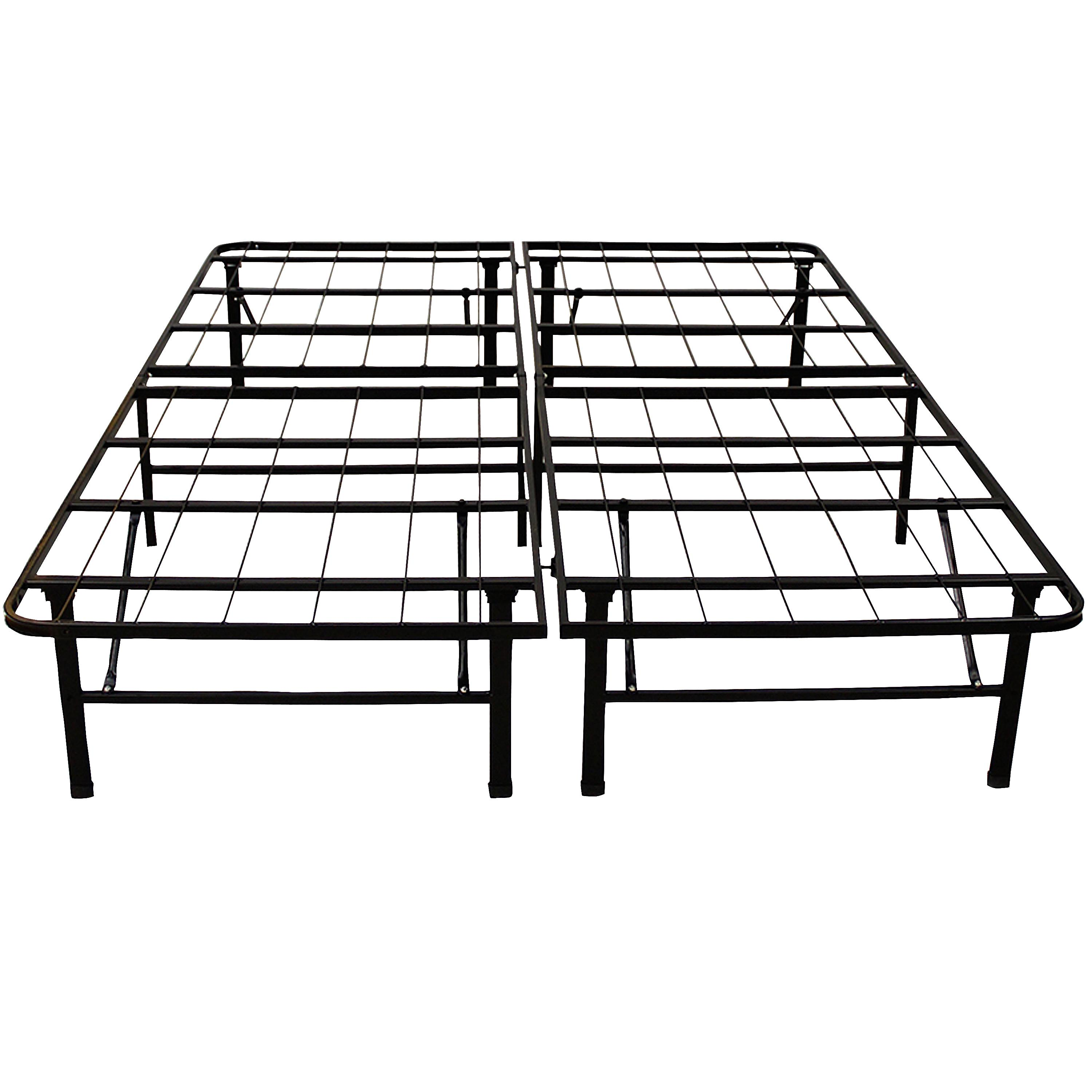Classic brands hercules platform heavy duty for Queen size bed frame
