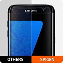 spigen galaxy s7 edge screen protector, galaxy s7 edge screen protector, s7 edge screen protector