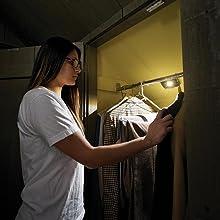 wireless motion under cabinet light, mr beams slim light