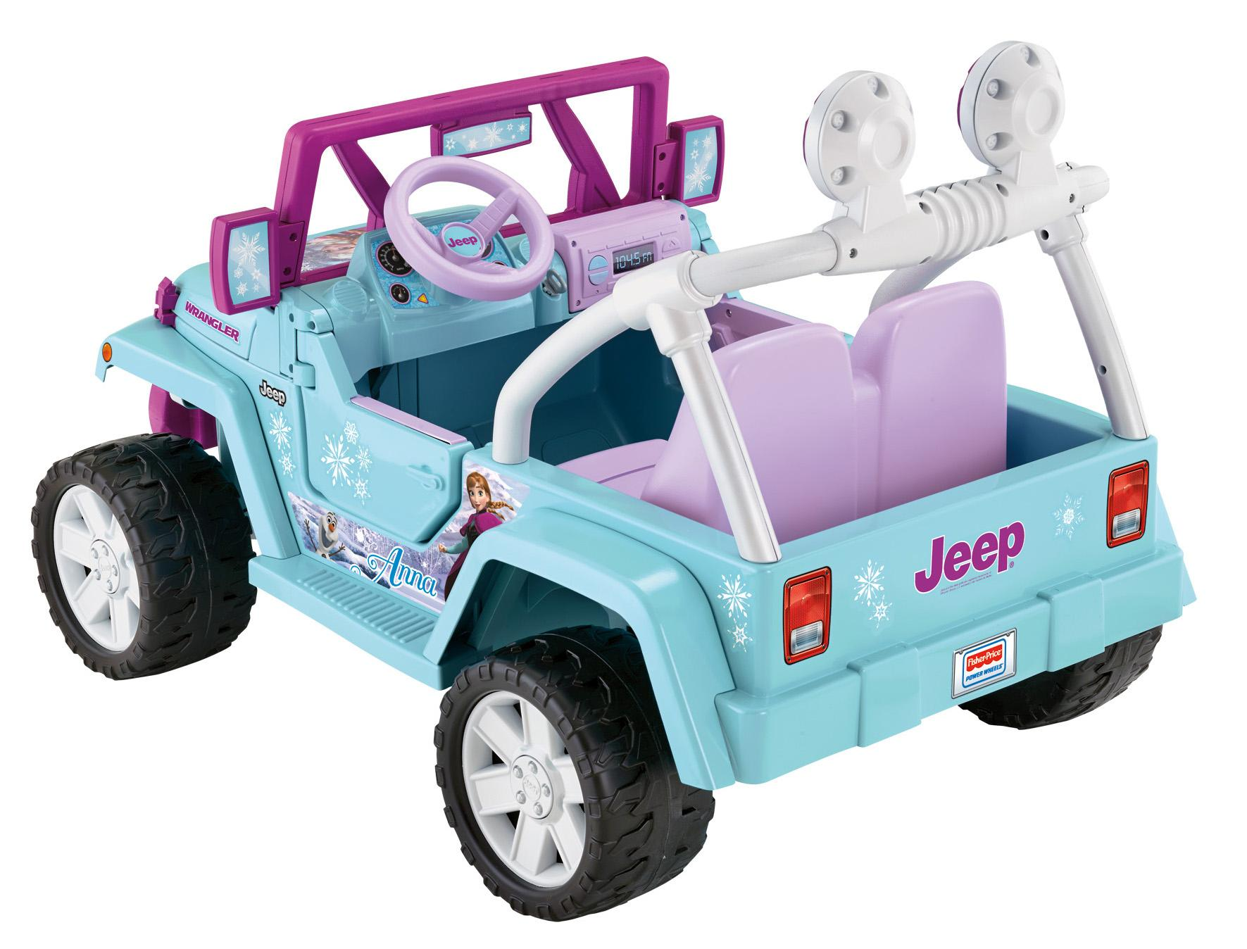 price disney frozen jeep wrangler power wheels fisher price Car Tuning