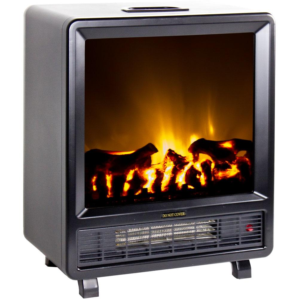 Frigidaire Tff 10308 Topaz Floor Standing Electric Fireplace Black Space Heaters