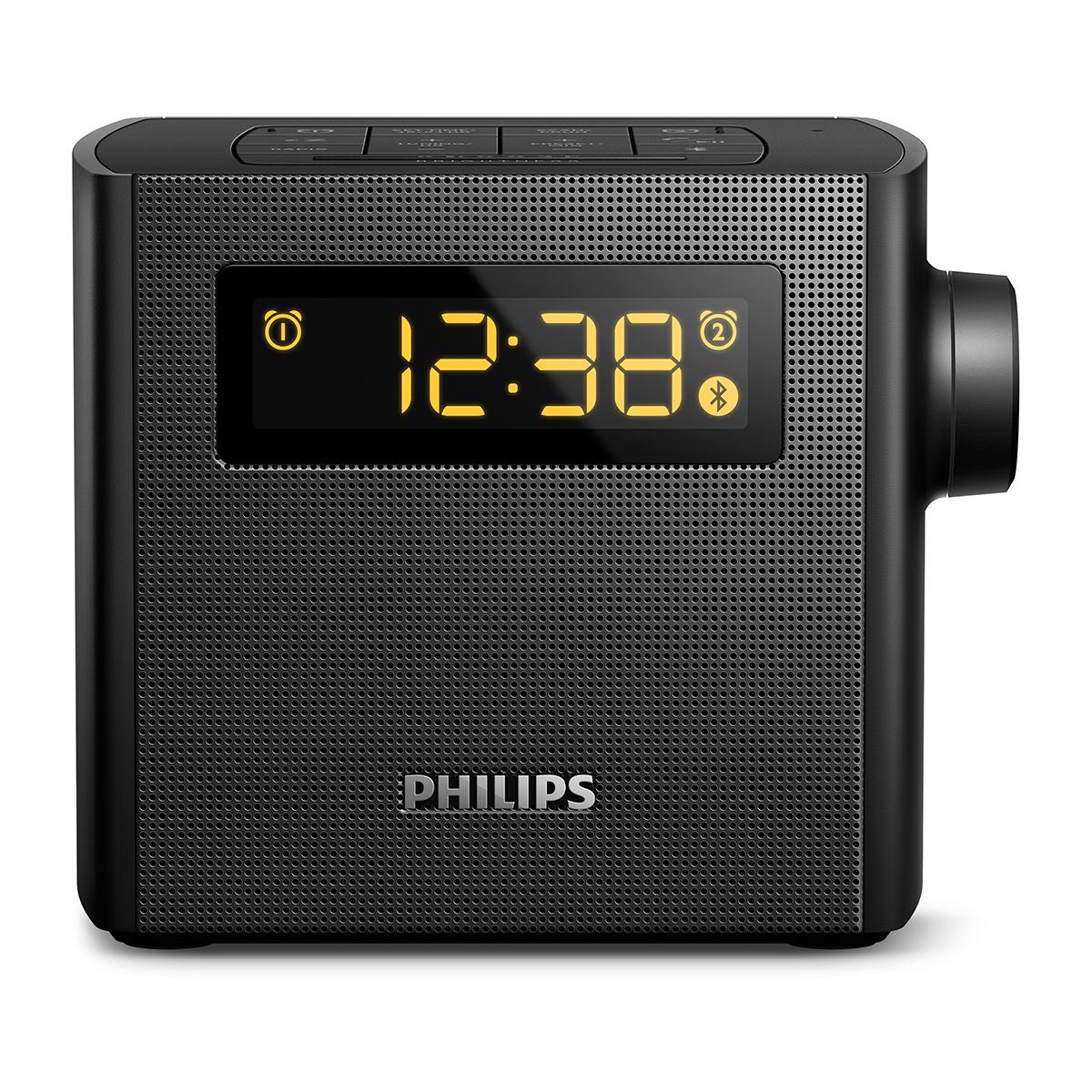 philips ajt4400b 37 bluetooth clock radio electronics. Black Bedroom Furniture Sets. Home Design Ideas