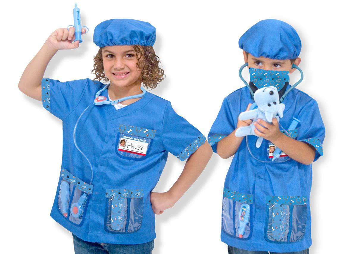Toys For 7 And Up Mane Provided : Amazon melissa doug veterinarian role play costume