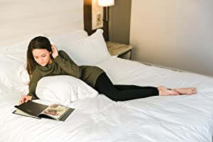 D&K Monarchy, Lounging on bed with leggings, D&K Comfortable Lounge at Home Leggings