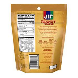 Jif Chocolate Peanut Powder Nutrition