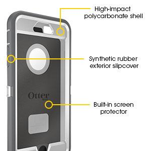 otterbox iphone 6 plus case 3-layer protection