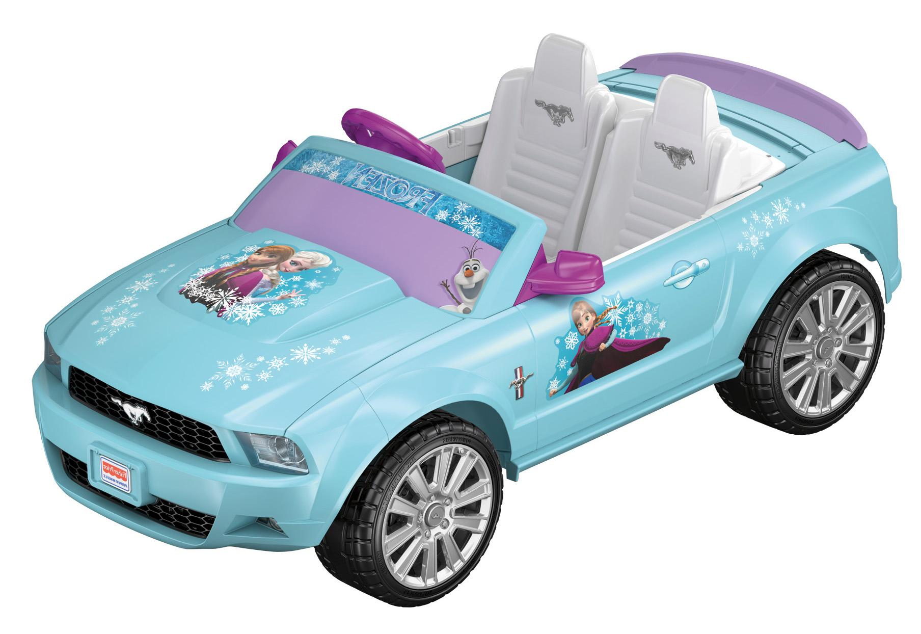 : Fisher-Price Power Wheels Disney Frozen Ford Mustang: Toys & Games