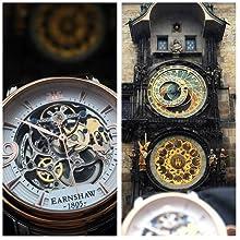 Thomas Earnshaw, Longcase, Automatic Movement, Leather Band, Dress Watch, Mens Watch, Watch