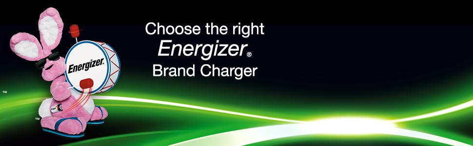 energizer bunny, choose the right energizer charger