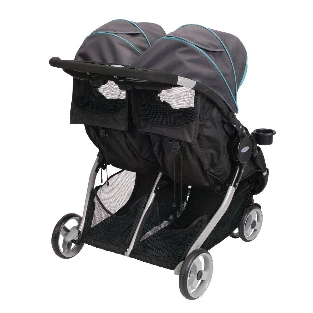 New Graco Fastaction Fold Duo Click Connect Stroller