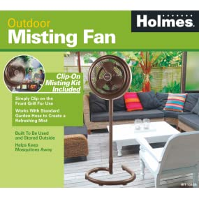 holmes hpf1010anm outdoor misting fan - Outdoor Misting Fan