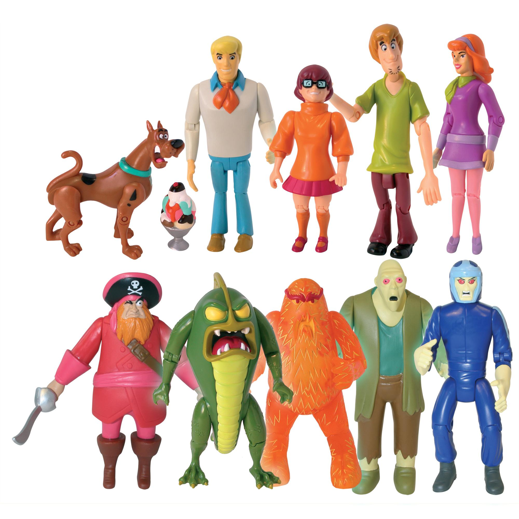 Amazon.com: Scooby Doo Monster Set Action Figure, 10 Pack: Toys & Games