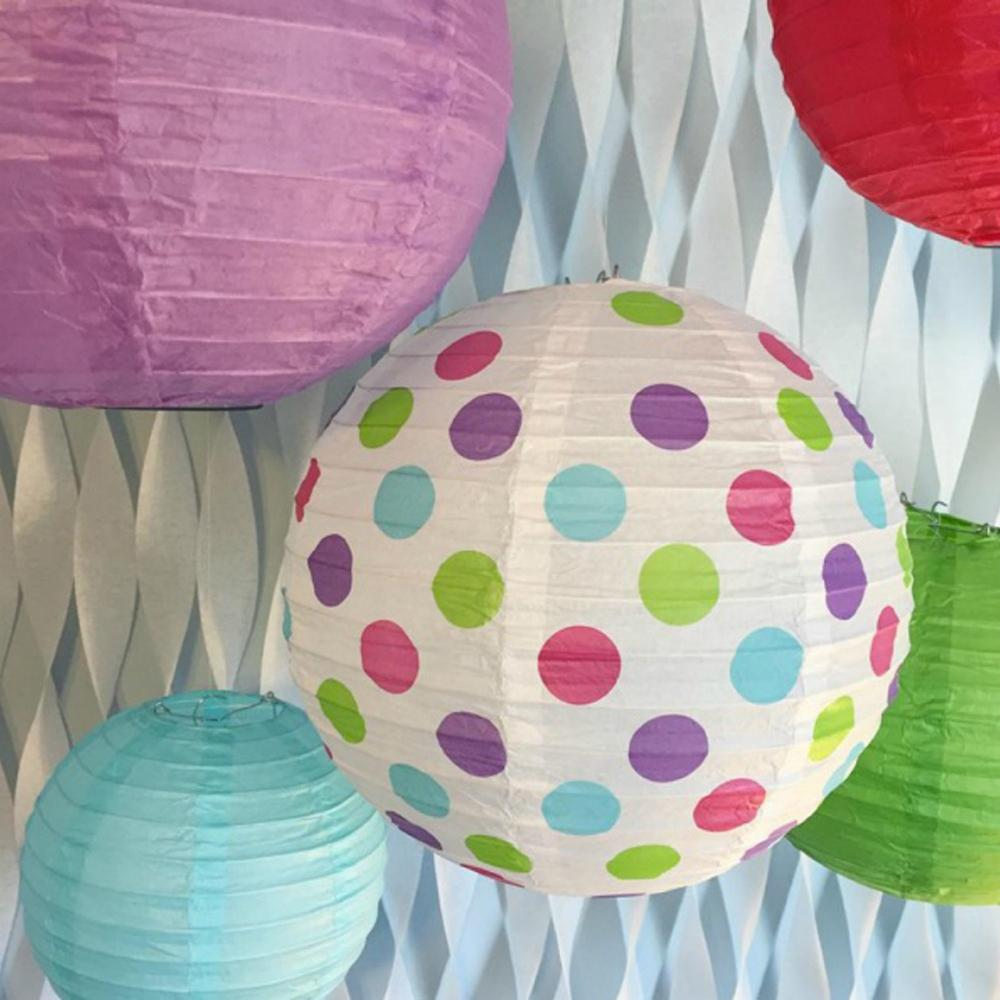 Bobee Paper Lanterns For Birthday Party Baby