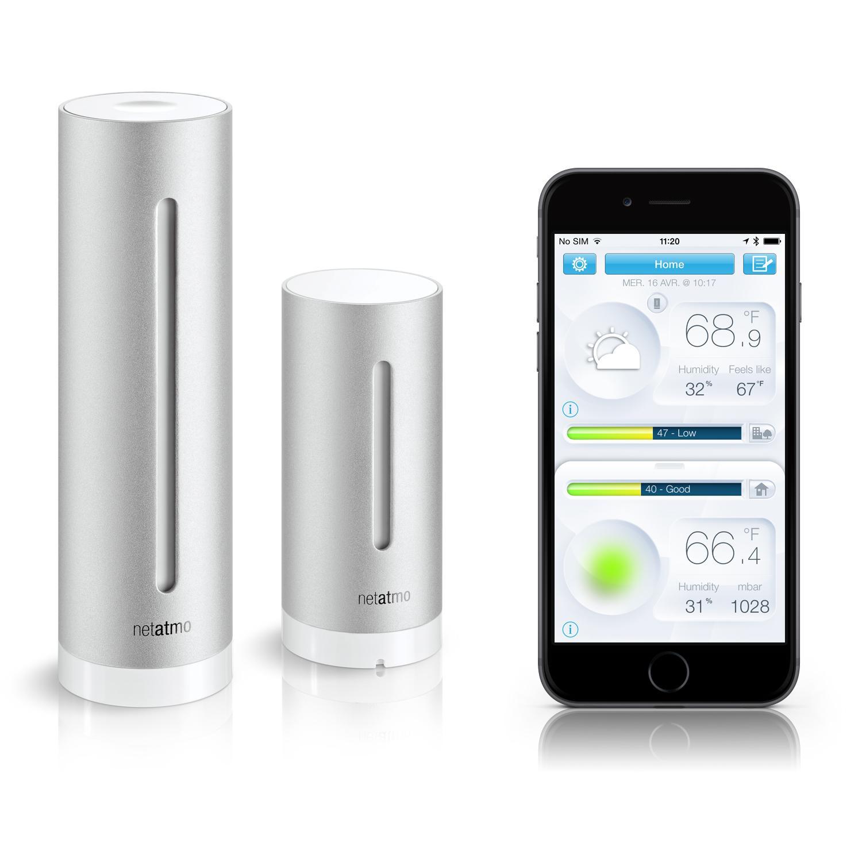 Amazon.com: Netatmo Weather Station for Smartphone