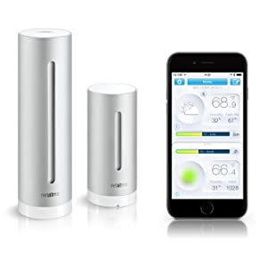 Personal weather station, connected home, healthy home, iphone, android, windows, air quality app