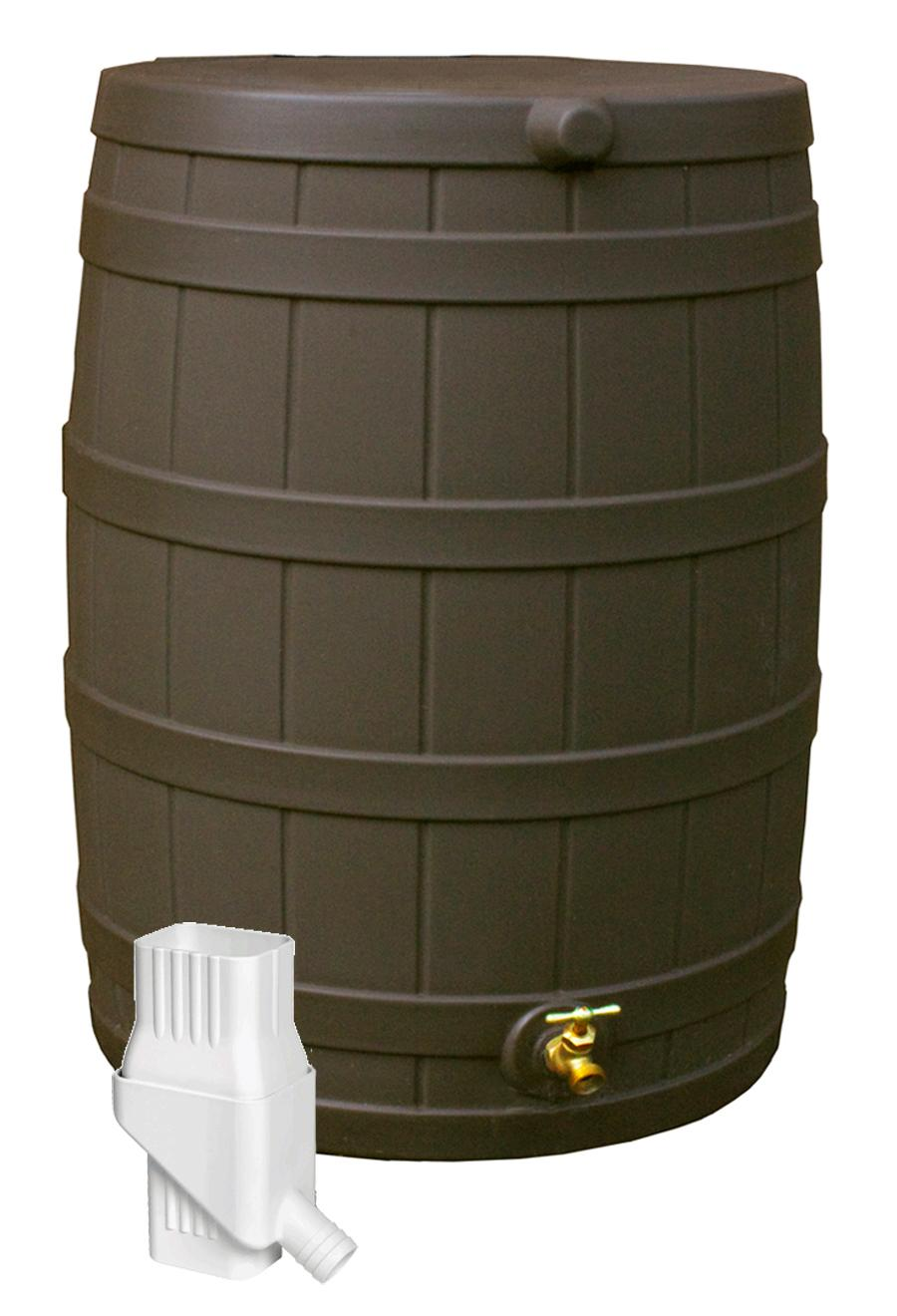 how to use a rain barrel to water lawn