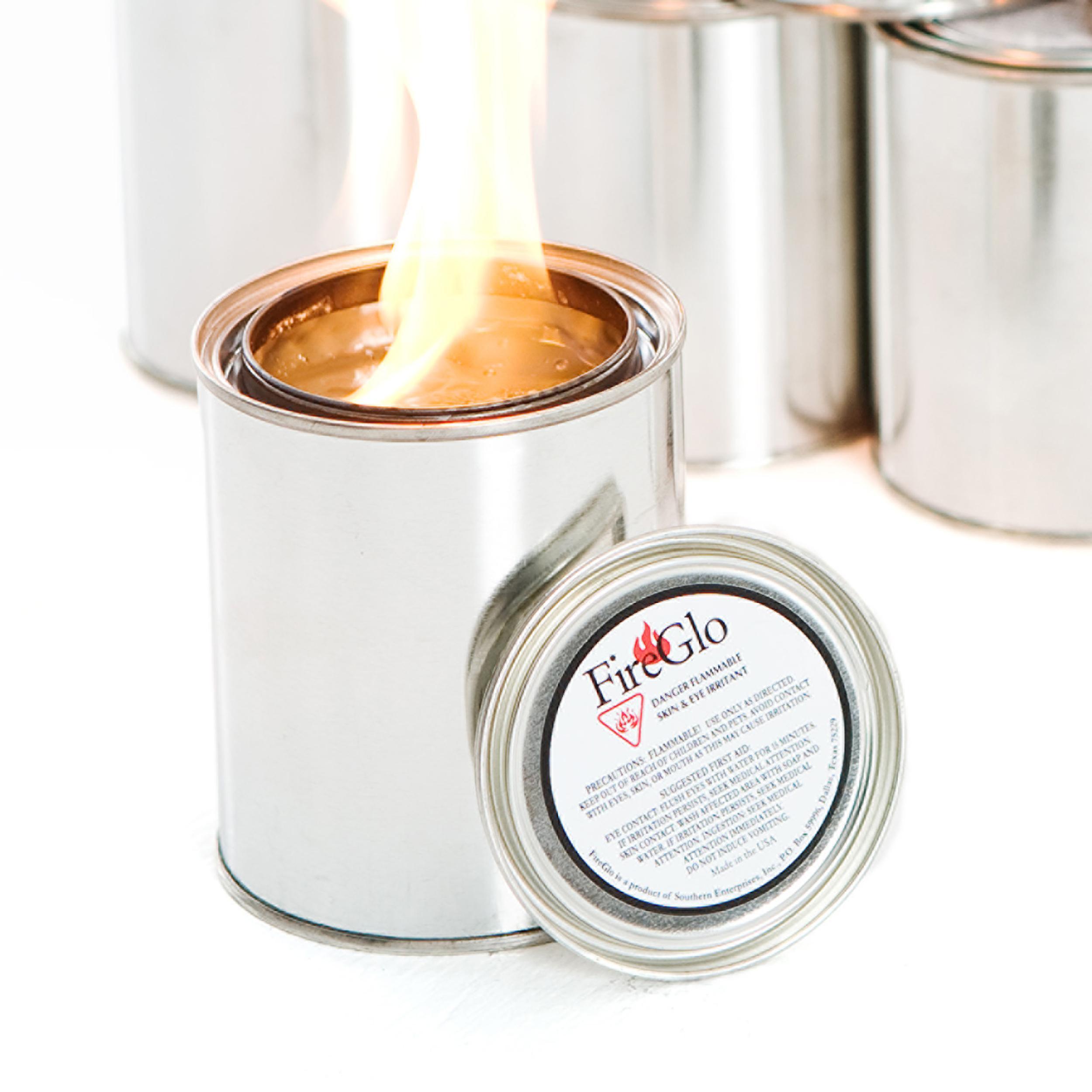 Sei 24 Pack Fireglo Gel Fuel Gel Fuel Fireplaces