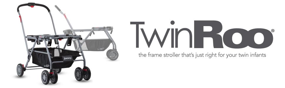 Amazon Joovy Twin Roo Infant Car Seat Frame Stroller