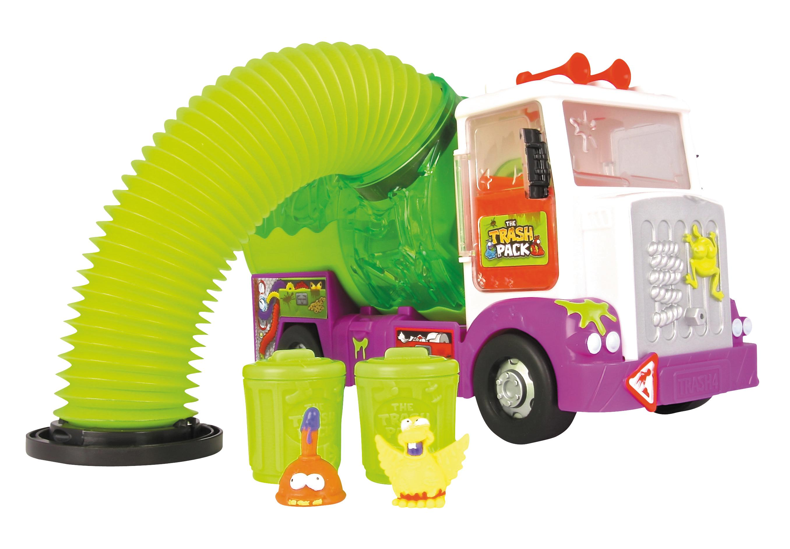 Amazon.com: Trash Pack Sewer Truck: Toys & Games Vacuum Coloring Pages