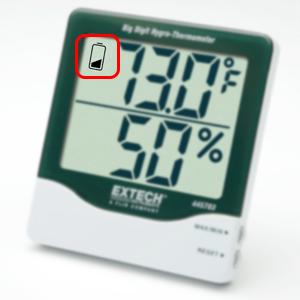 Hygrometer, Battery Powered