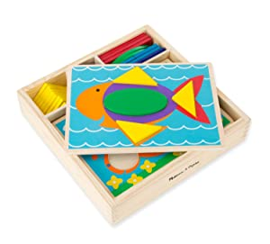 mosaics, geometric shapes, puzzle, wooden tiles, sorting, matching, preschool toy