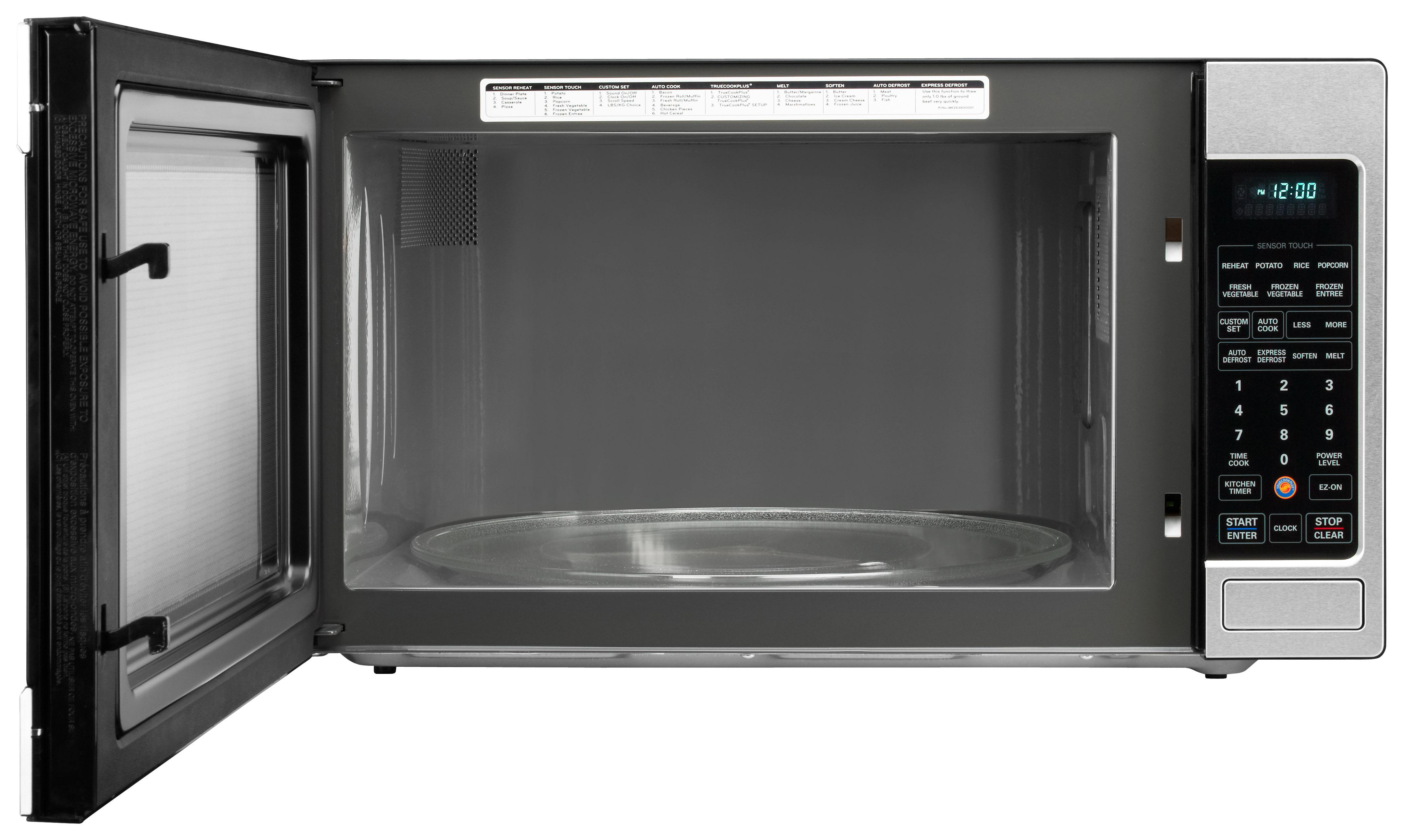 Lg lcrt2010st 2 0 cu ft counter top microwave for Oven cleaner on kitchen countertops