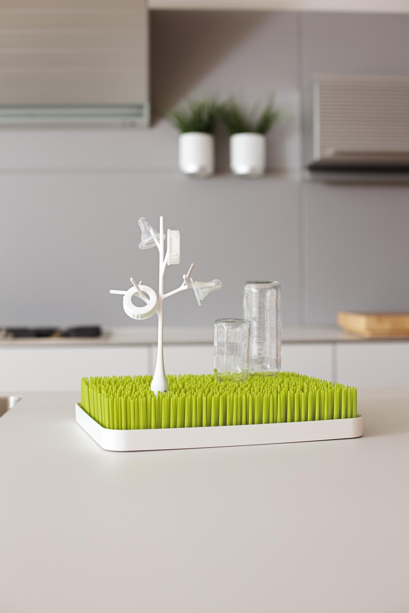 Amazon.com : Boon Lawn Countertop Drying Rack Green : Baby Bottle