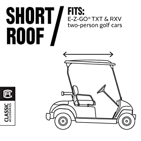 amazon com   classic accessories fairway golf cart