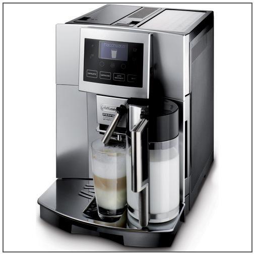 Delonghi Coffee Maker/Grinder Set : De Longhi Perfecta Cappuccino Touch 15 Bar Espresso Machine