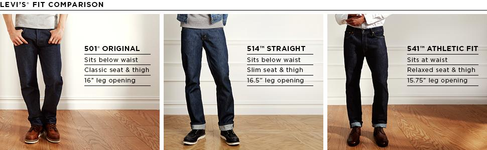 Levi's Men's 501 Original Shrink-To-Fit Jean at Amazon Men's