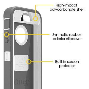 otterbox iphone 5 5s 3 layer protection