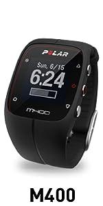 Polar M400 del reloj del GPS Deporte y Control de actividad