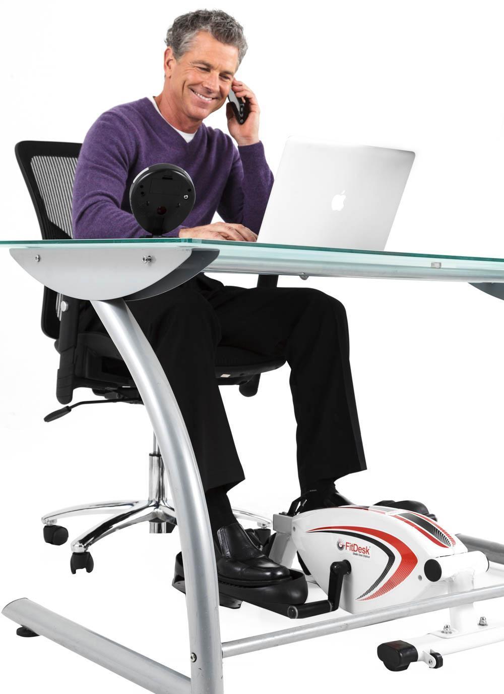 Amazon Com Fitdesk Under Desk Elliptical Trainer