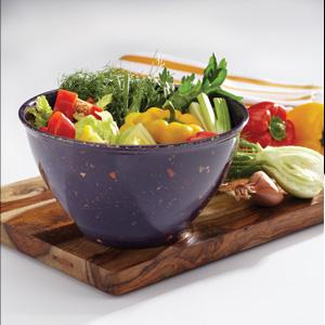 Rachael Ray Garbage Bowl with Non-Slip Rubber Base