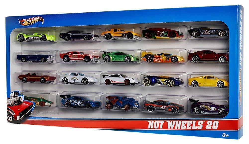 Amazon.com: Hot Wheels 20 Car Gift Pack (Styles May Vary): Toys
