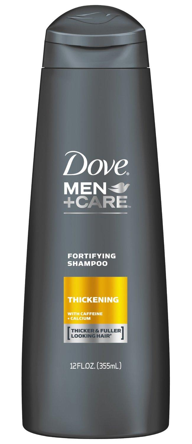 Dove Men+Care Thickening Fortifying Shampoo best for men with fine ...