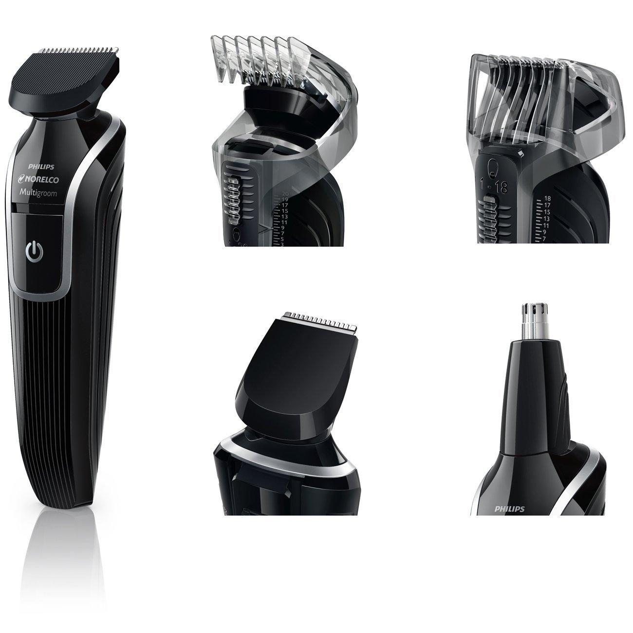 philips norelco qg3330 60 men facial stying beard moustache nose ear trimmer new ebay. Black Bedroom Furniture Sets. Home Design Ideas