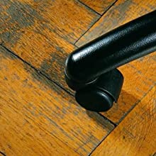 Hard Floor Damage without Mat