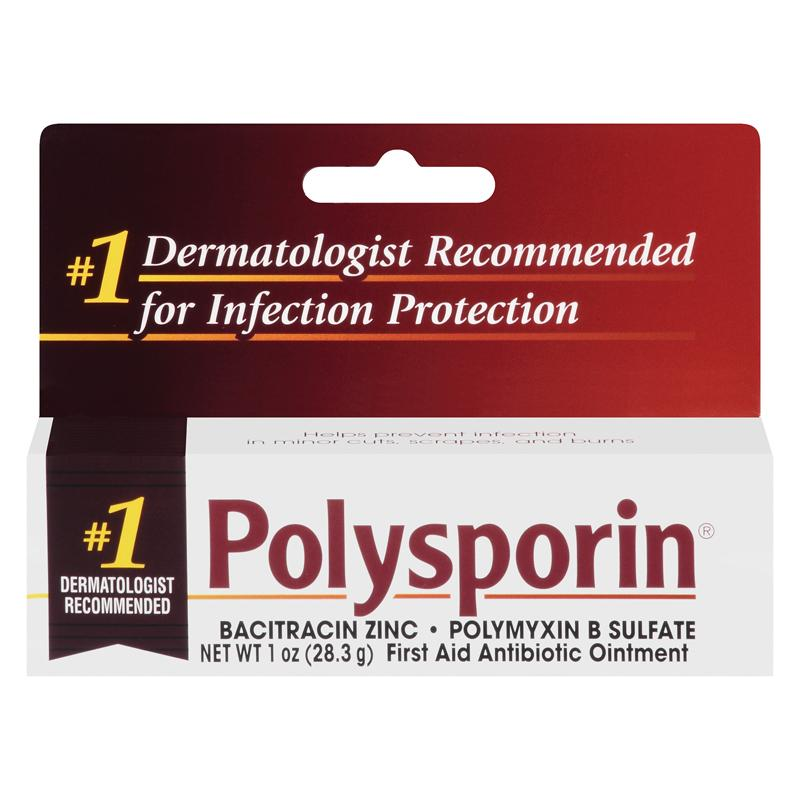 Amazon.com: Polysporin First Aid Antibiotic Ointment 1-Ounce ...