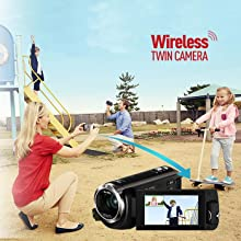 HC-W570 Wireless Twin Camera