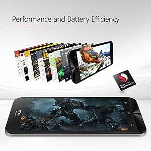 ZenFone 2 Laser, Qualcomm / 3G / 32G Plata