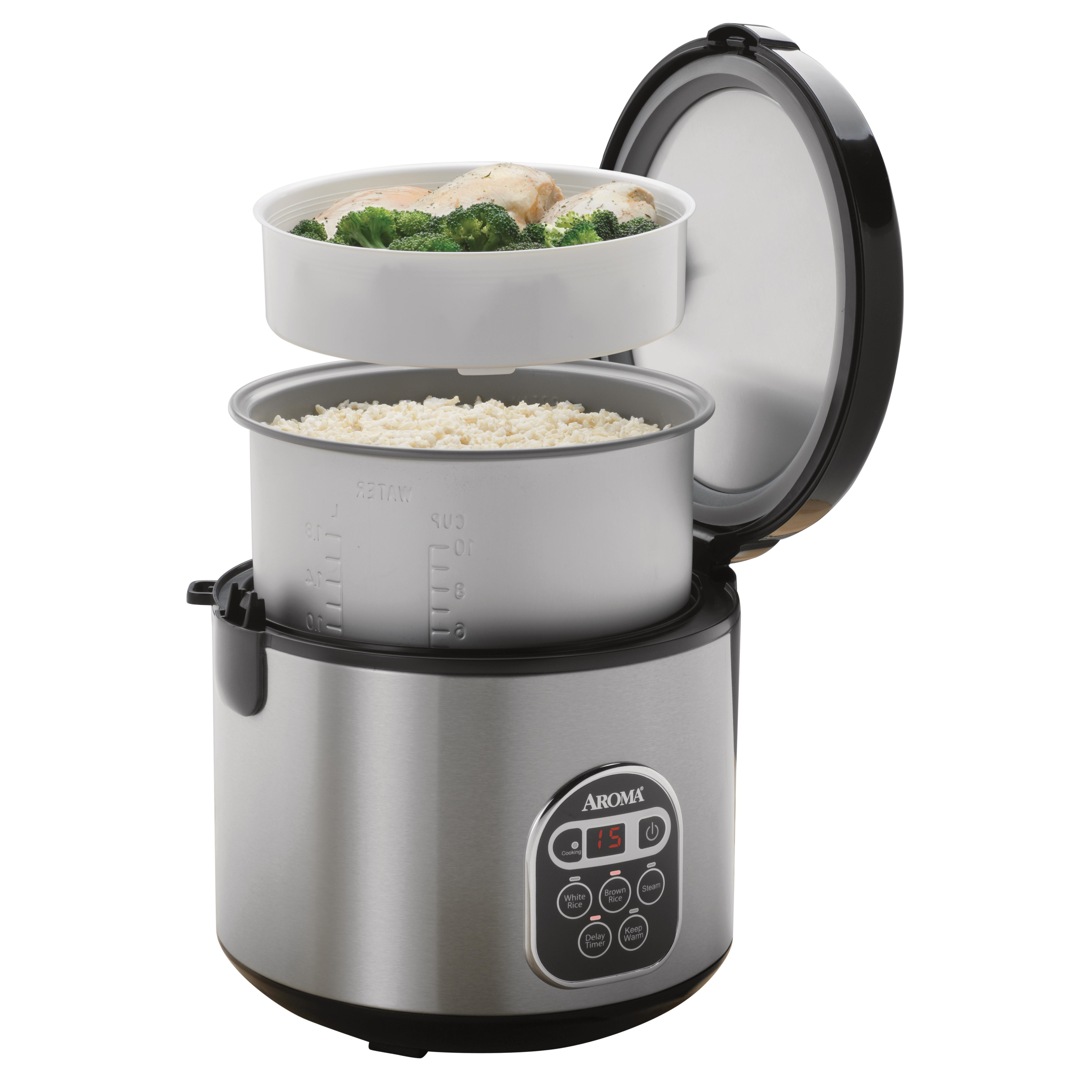 Amazon.com: Aroma 20-Cup (Cooked) (10-Cup UNCOOKED
