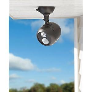 mr. beams spotlight, wireless led spotlight, outdoor spotlight