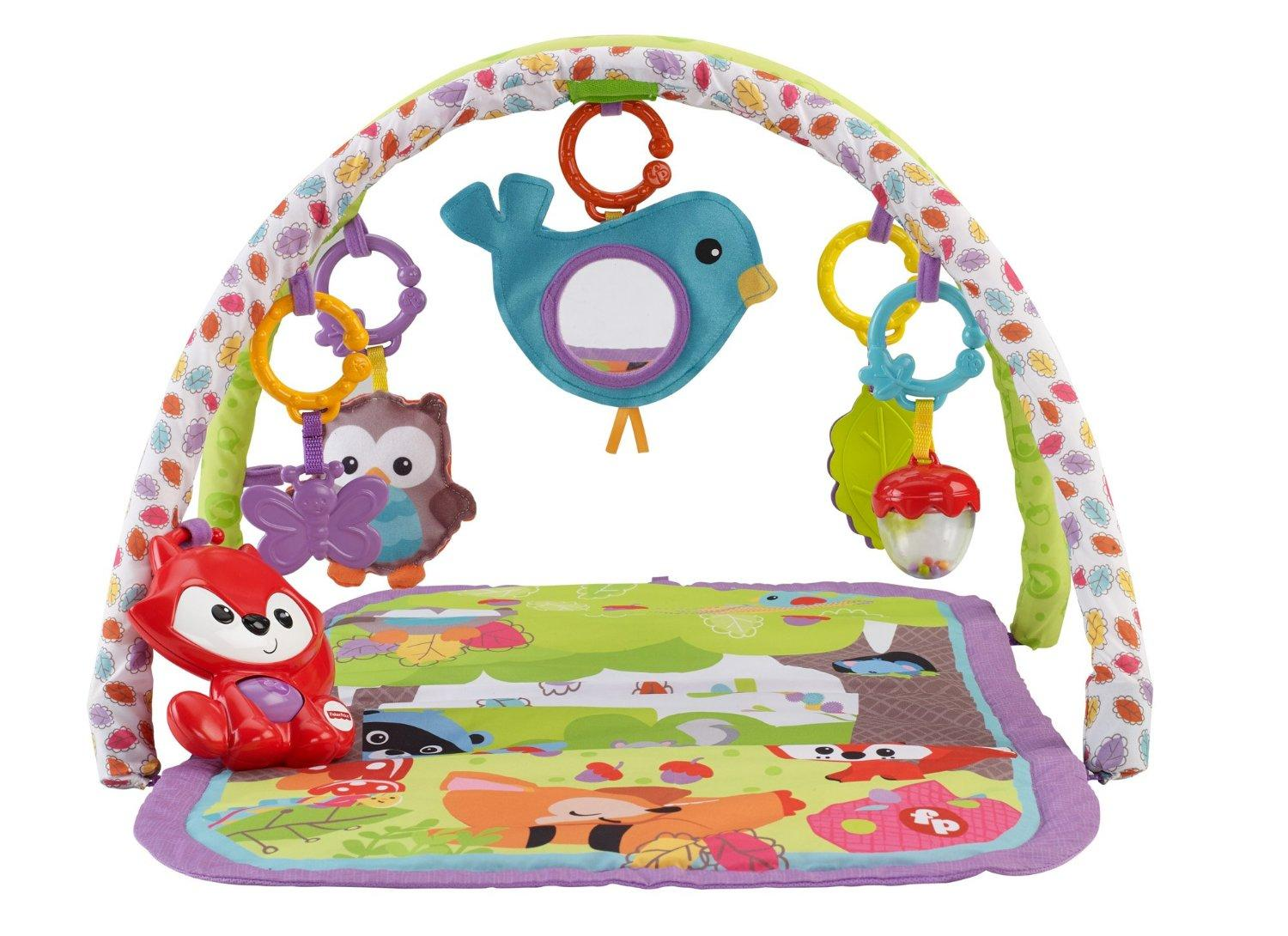 Amazon Com Fisher Price 3 In 1 Musical Activity Gym Baby